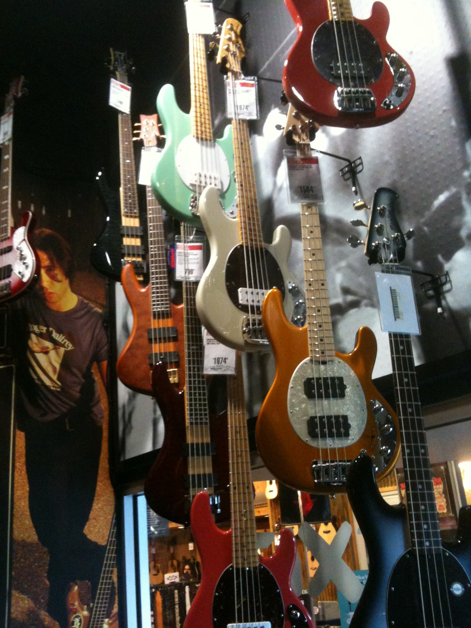 Electric Bard » Visiting the Guitar Center on Van Ness