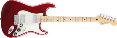 Fender Blacktop Strat in red with maple neck