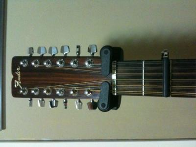 12-string with capo on 2nd fret