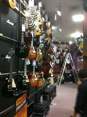 Gibson and Epiphones